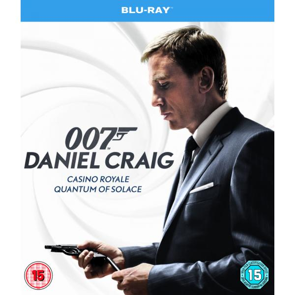 Daniel Craig - Casino Royale / Quantum Of Solace Blu-Ray