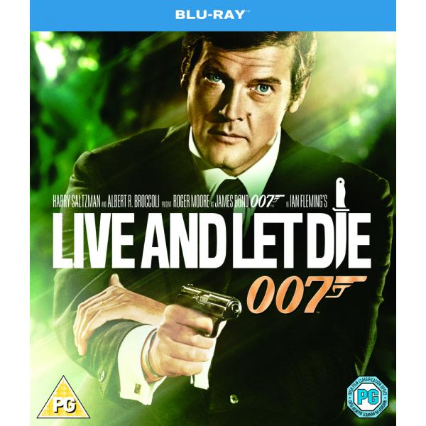 007 Bond - Live And Let Die Blu-Ray