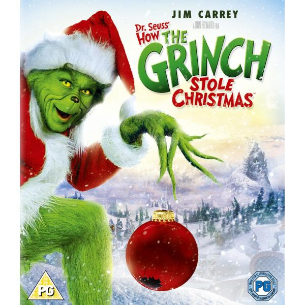 Dr Seuss - How The Grinch Stole Christmas Blu-Ray