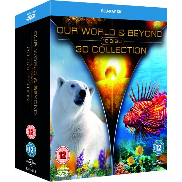Our World And Beyond 3D Collection Blu-Ray