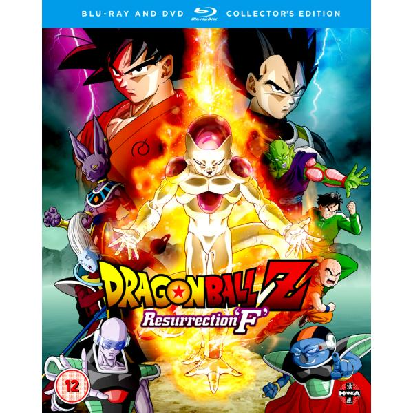 Dragon Ball Z - Resurrection F - Collectors Edition Blu-Ray + DVD