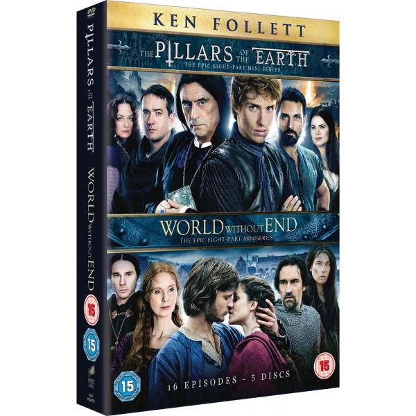The Pillars Of Earth - Complete Mini Series / World Without End - Complete Mini Series DVD