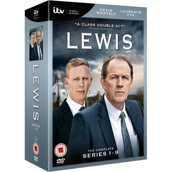 Lewis Series 1 to 9 Complete Collection DVD