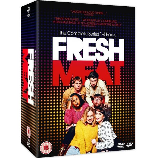 Fresh Meat Series 1 to 4 Complete Collection DVD