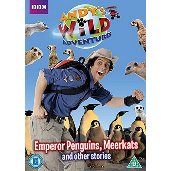 Andys Wild Adventures - Emperor Penguins Meerkats And Other Stories DVD