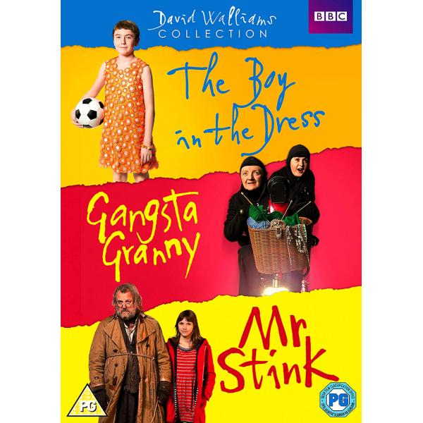 David Walliams - The Boy In The Dress / Gangsta Granny / Mr Stink DVD