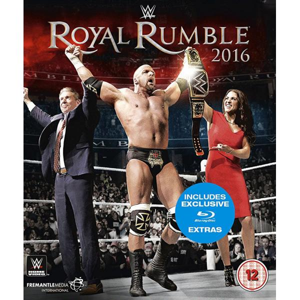 WWE - Royal Rumble 2016 Blu-Ray