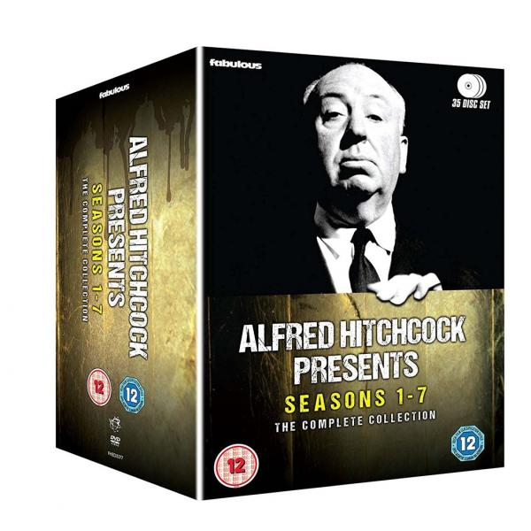 Alfred Hitchcock Presents Seasons 1 to 7 Complete Collection DVD