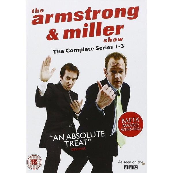 The Armstrong & Miller Series 1 to 3 Complete Collection DVD