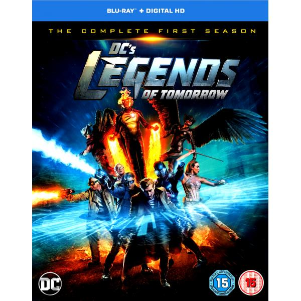 DC Legends Of Tomorrow Season 1 Blu-Ray