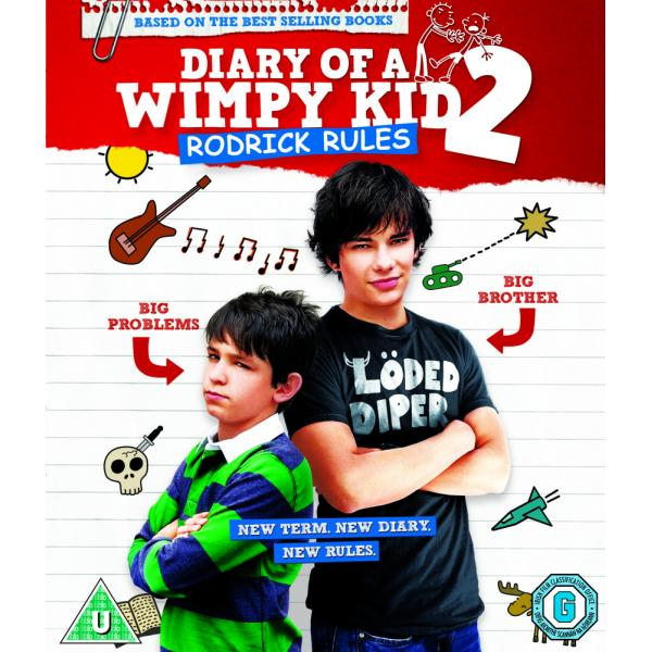 Diary Of A Wimpy Kid 2 - Rodrick Rules Blu-Ray