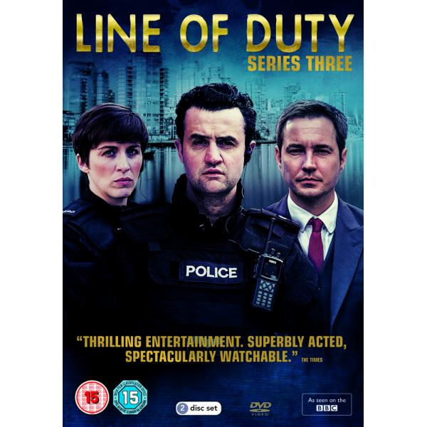 Line Of Duty Series 3 DVD