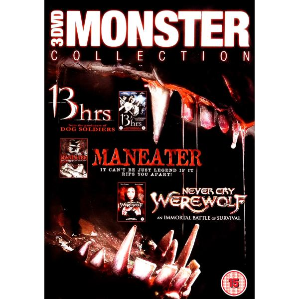 13 Hrs / Cry Wolf / Maneater DVD