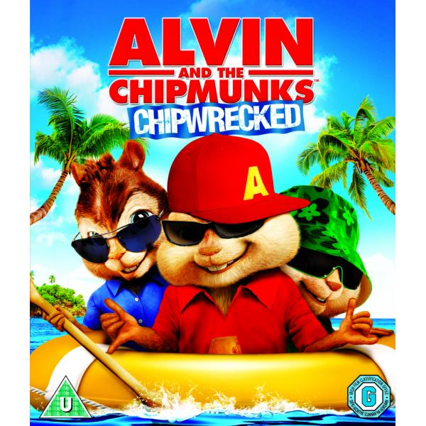 Alvin And The Chipmunks 3 - Chipwrecked Blu-Ray