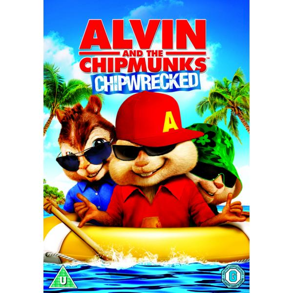 Alvin And The Chipmunks - Chipwrecked DVD