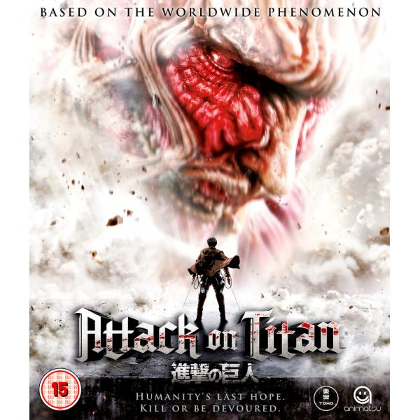 Attack On Titan - The Movie - Part 1 Blu-Ray