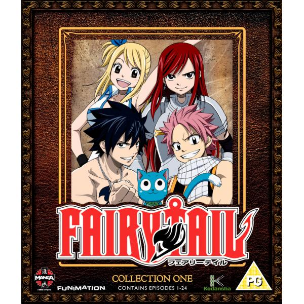 Fairy Tail Collection 1 - Episodes 1-24 Blu-Ray