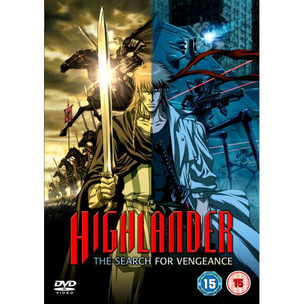 Highlander 5 - The Search For Vengeance DVD