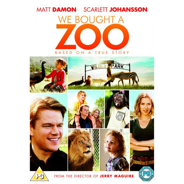 We Bought A Zoo DVD