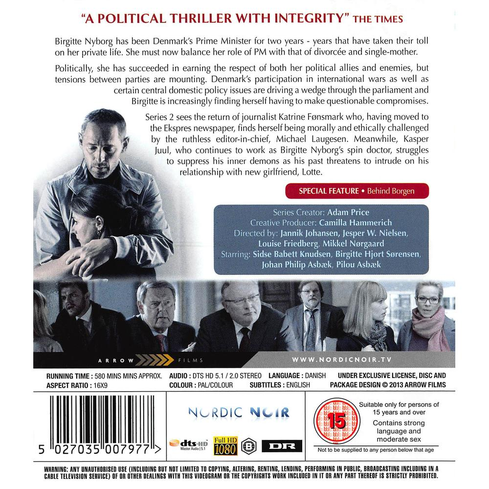Borgen Season 2 Blu-Ray   Deff com