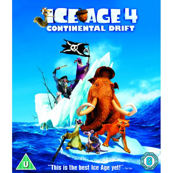Ice Age 4 - Continental Drift Blu-Ray