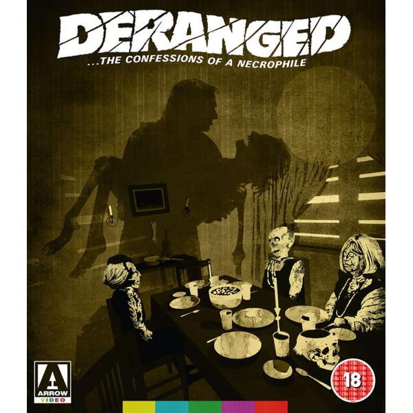 Deranged - The Confessions Of A Necrophile DVD + Blu-Ray