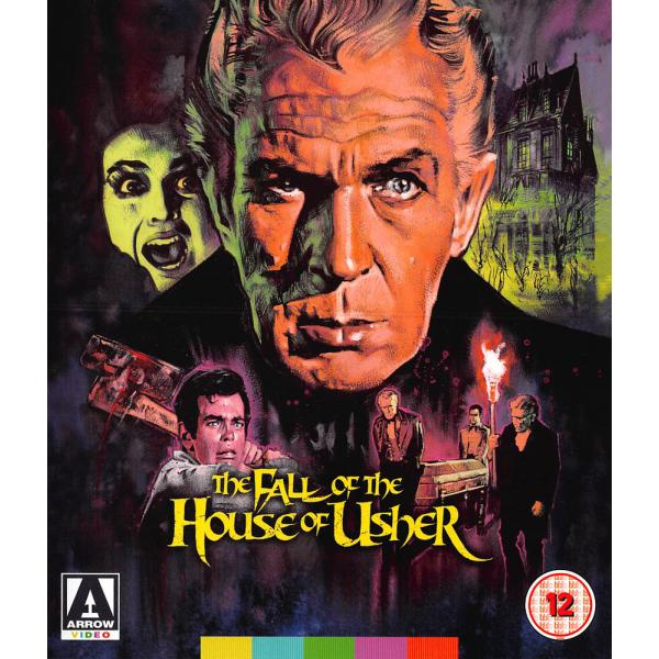 The Fall Of The House Of Usher Blu-Ray