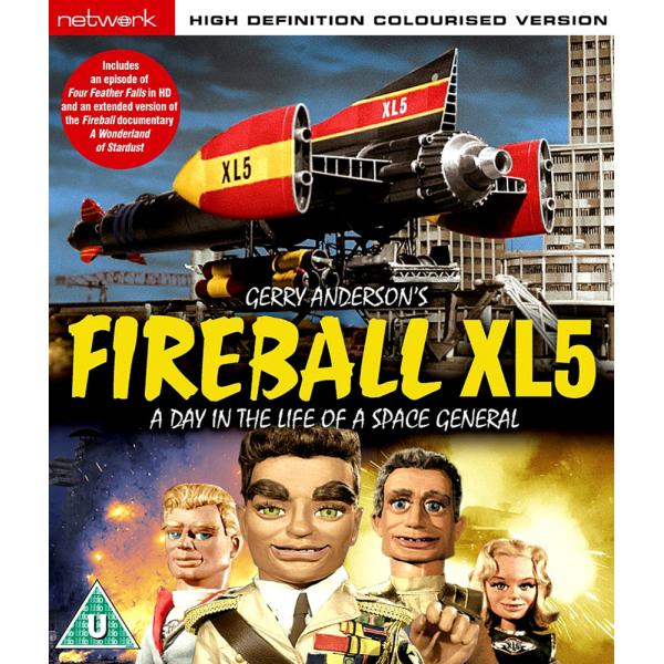 Fireball XL5 - A Day In The Life Of A Space General Blu-Ray