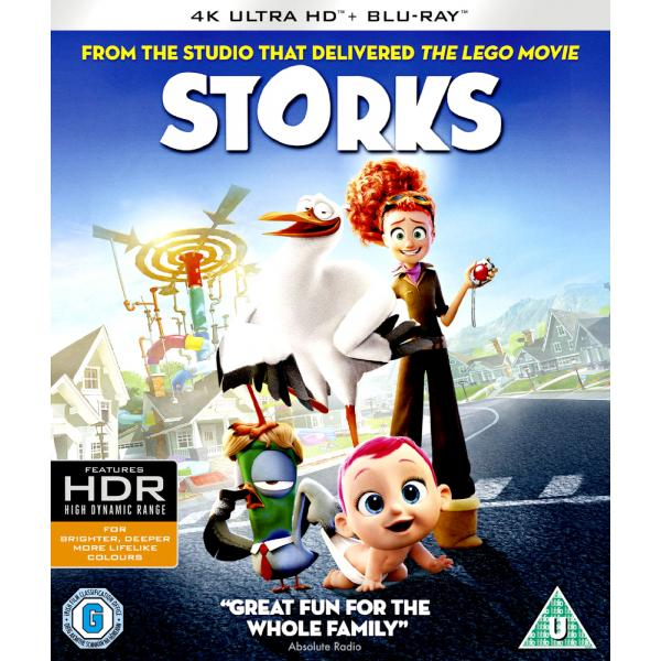 Storks 4K Ultra HD + Blu-Ray
