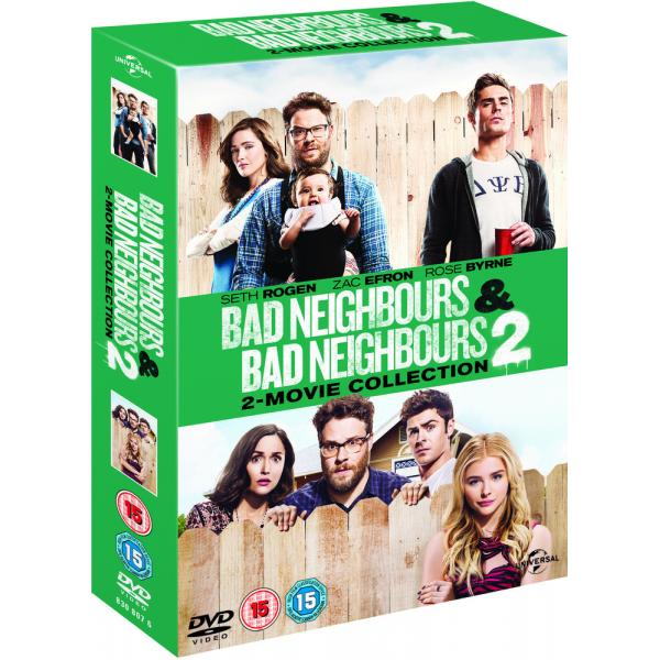 Bad Neighbours / Bad Neighbours 2 DVD