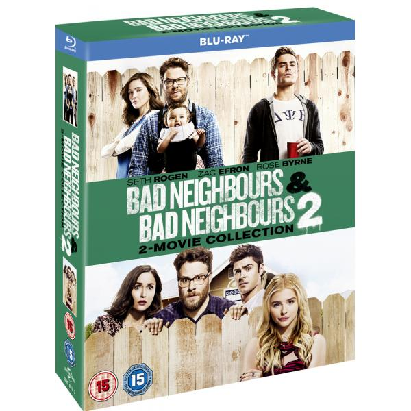 Bad Neighbours / Bad Neighbours 2 Blu-Ray