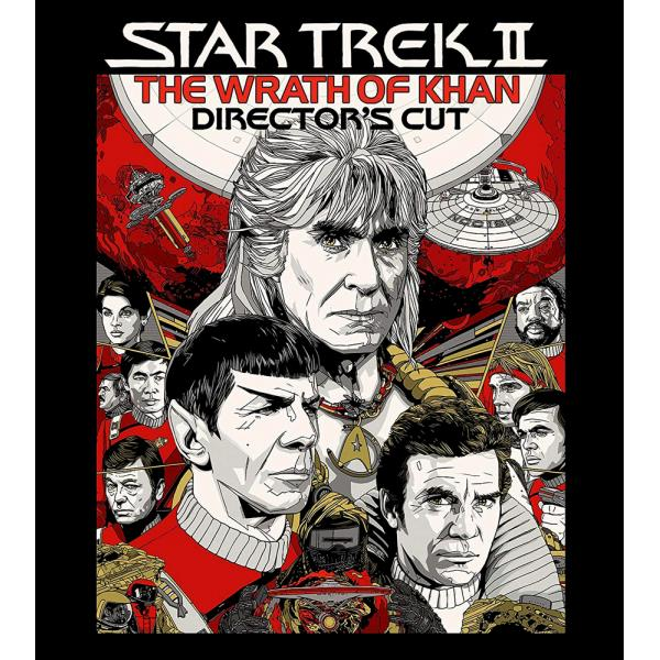 Star Trek - The Wrath Of Khan - Directors Cut Blu-Ray