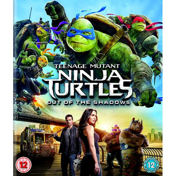 TMNT - Teenage Mutant Ninja Turtles - Out Of The Shadows Blu-Ray