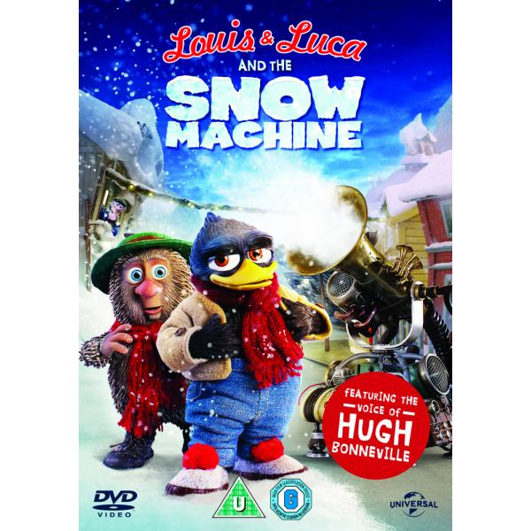 Louis & Luca - And The Snow Machine DVD