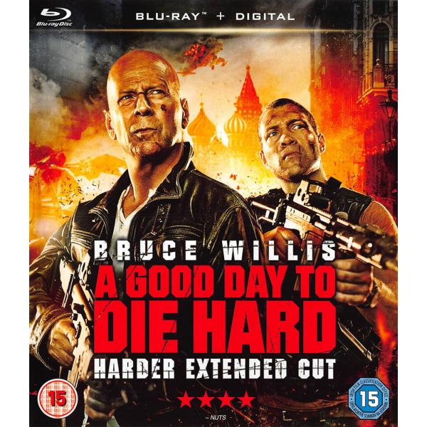 Die Hard 5 - A Good Day To Die Hard - Harder Extended Cut Blu-Ray
