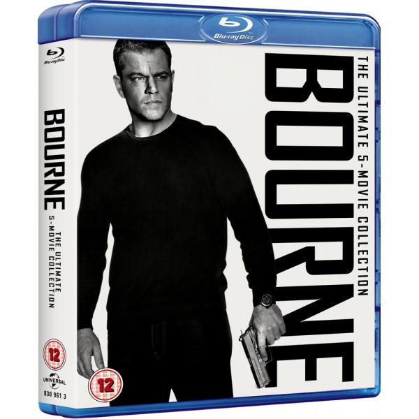 Bourne (5 Films) Movie Collection Blu-Ray