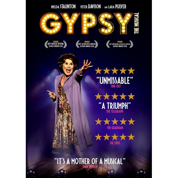 Gypsy The Musical DVD