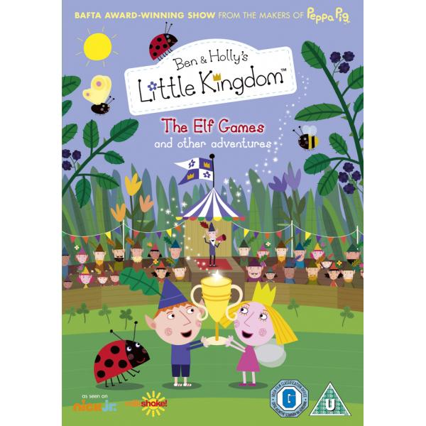 Ben & Hollys Little Kingdom - The Elf Games And Other Adventures DVD