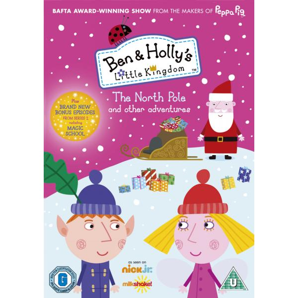Ben & Hollys Little Kingdom - The North Pole And Other Adventures DVD
