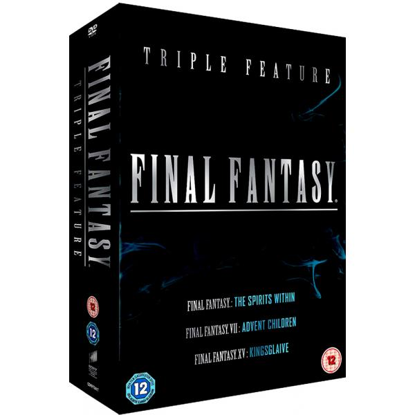 Final Fantasy - The Spirits Within / VII Advent Children / XV - Kingsglaive DVD
