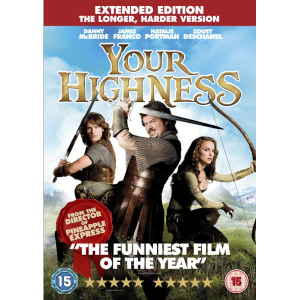 Your Highness - Extended Edition DVD