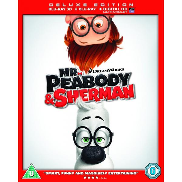 Mr Peabody & Sherman 3D+2D Blu-Ray