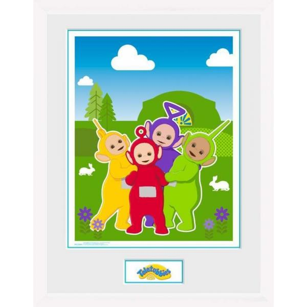 Teletubbies - Time For Teletubbies White Framed Print 30 x 40
