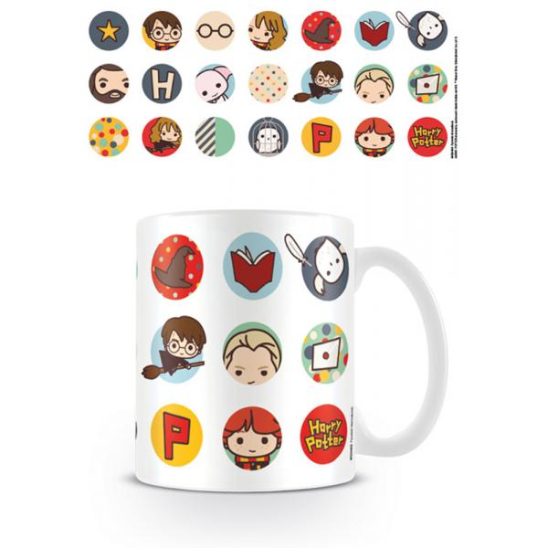 Harry Potter - Kawaii Circles Mug