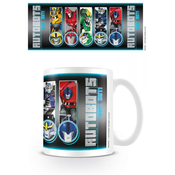 Transformers - Robots In Disguise Roll Call Roll Out Mug