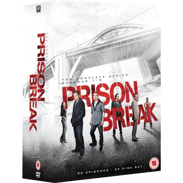 Prison Break Seasons 1 to 5 Complete Collection DVD