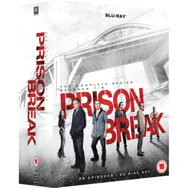 Prison Break Seasons 1 to 5 Complete Collection Blu-Ray