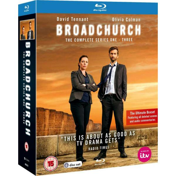 Broadchurch Series 1 to 3 Complete Collection Blu-Ray