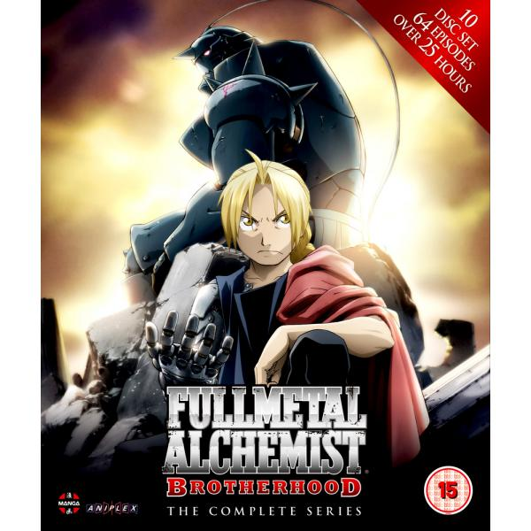 Fullmetal Alchemist - Brotherhood - The Complete Series Collection - Episodes 1-64 Blu-Ray