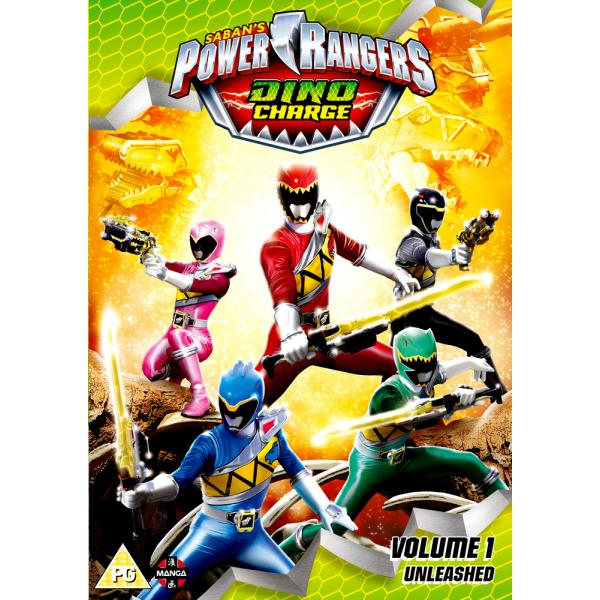 Power Rangers - Dino Charge - Volume 1 - Unleashed DVD